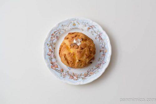 ヤマザキパイ包みつぶあん&ホイップ皿盛り