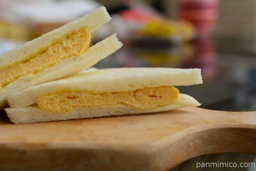 ファミマおだし香る玉子焼サンド皿盛り