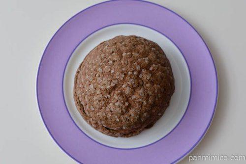 ヤマザキザクザクチョコメロンパン皿盛り
