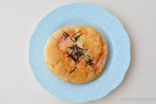 ファミマもちっと博多明太マヨチーズ皿盛り