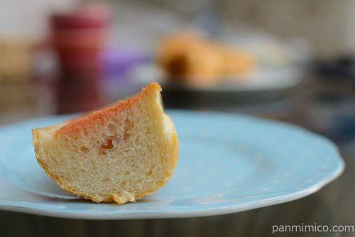 ローソンちぎれる明太子バターフランスパン中身