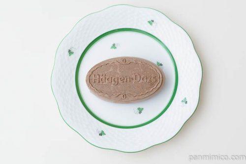ハーゲンダッツクリスピーサンドフォンダンショコラ皿盛り