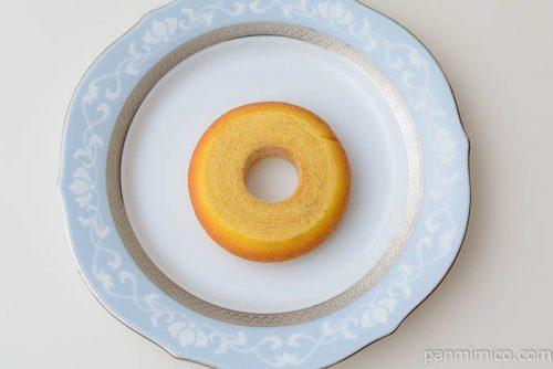 ローソン発酵バターを使ったふんわりバウムクーヘン皿盛り