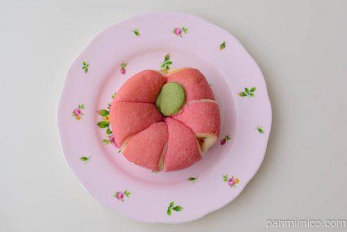 ファミマちぎれるりんごぱん皿盛り