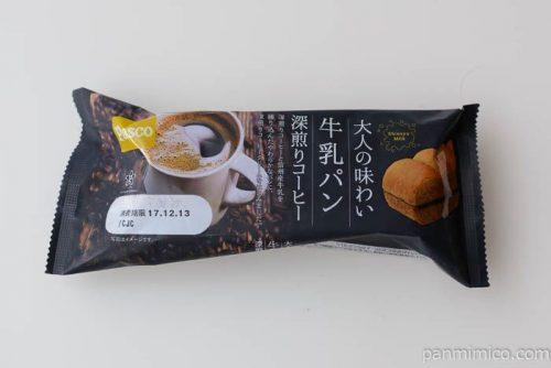 パスコ大人の味わい牛乳パン深煎りコーヒー