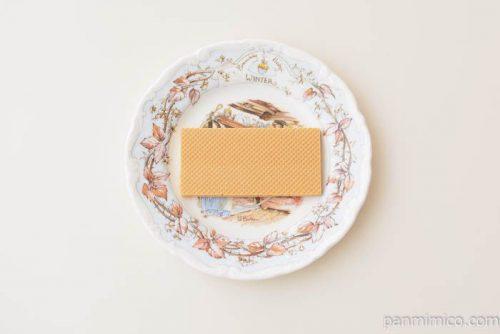 バビグランワッフェリーニキャラメル皿盛り