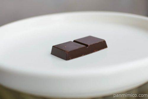 明治チョコレート効果72素焼きクラッシュアーモンド皿盛り