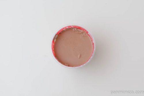 グリコビッグプッチンプリンミルクチョコ&苺ソース中身