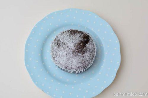 パスコフォンダンショコラケーキ皿盛り