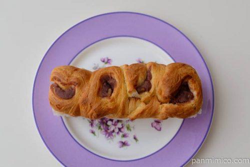 ベーカリー工房 あんことくるみのちぎりパン【コープこうべ】皿盛り