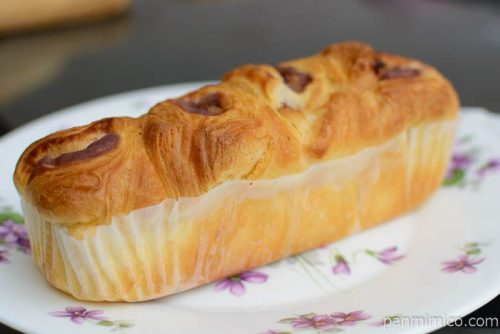 ベーカリー工房 あんことくるみのちぎりパン【コープこうべ】横