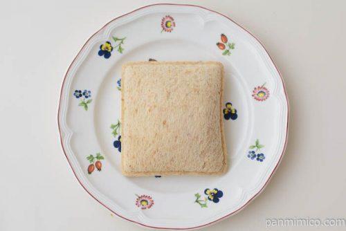 ランチパック ハンバーグ(全粒粉入りパン)【ヤマザキ】皿盛り
