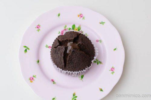 フォンダンショコラ風蒸しケーキ【神戸屋】皿盛り
