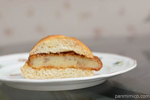 こだわりソースの味わいコロッケパン【ヤマザキ】中身