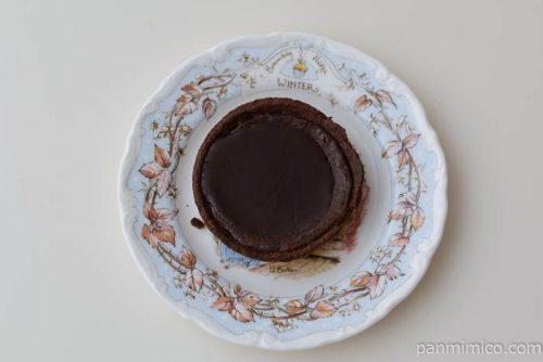 キャラメルショコラタルト自家製キャラメル入り【ファミマ】皿盛り