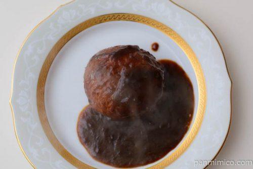 旨包ボリュームリッチハンバーグ濃厚チーズ入り【伊藤ハム】皿盛り