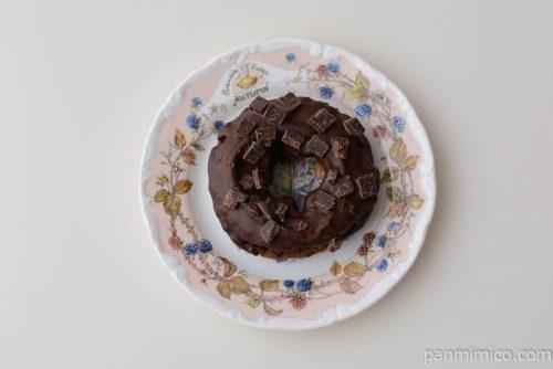 ショコラドーナツ【セブンイレブン】皿盛り