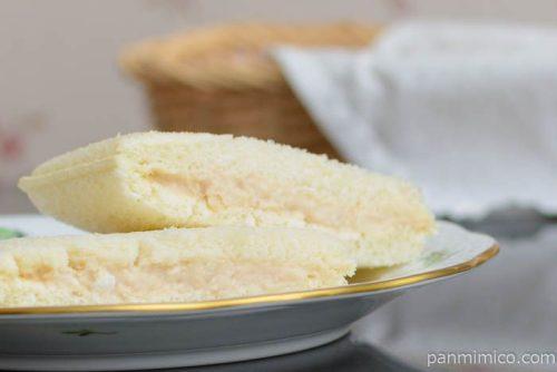 スナックサンド ツナ&マヨ【フジパン】皿盛り