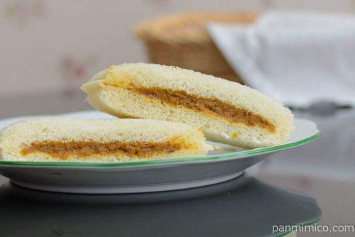 スナックサンド ビーフカリー【フジパン】皿盛り