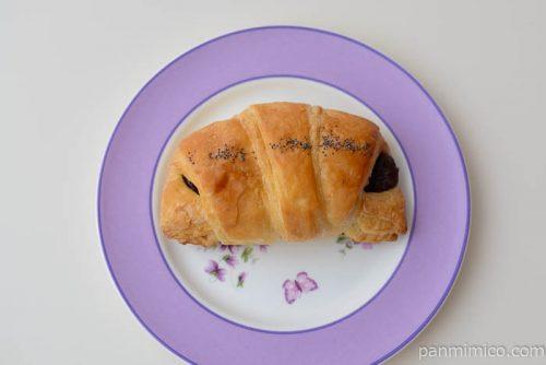 あんこクロワッサン 北海道産小豆の餡使用【ローソン】皿盛り