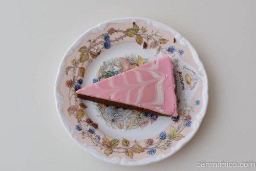 苺の生ガトーショコラ【セブンイレブン】皿盛り