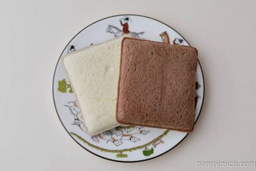 ランチパック(ミルクチョコレート)【ヤマザキ】皿盛り