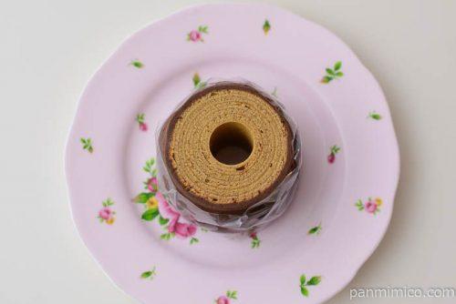 【カフェ・ユーロップ】バウムクーヘン(コーヒー)皿盛り