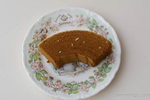厚ぎりバウム 深煎りコーヒー【パスコ】皿盛り