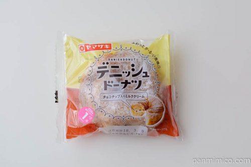 デニッシュドーナツ(チョコチップ入りミルククリーム)ヤマザキ