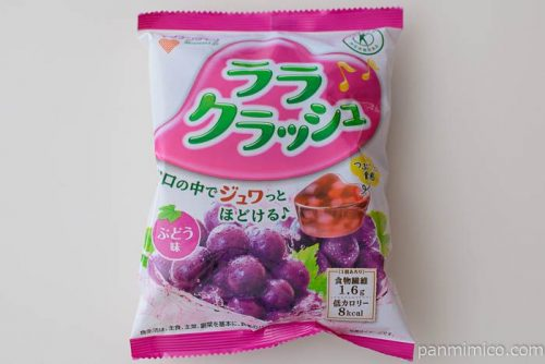 ララクラッシュ【マンナンライフ】ぶどう味
