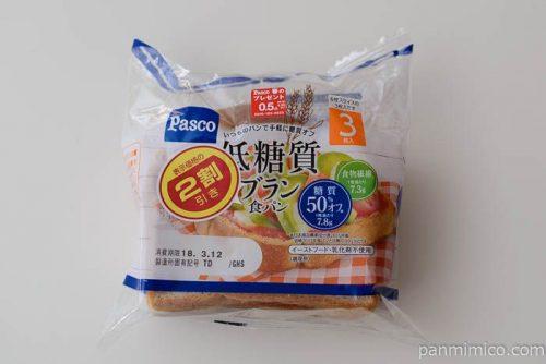 低糖質ブラン食パン【パスコ】
