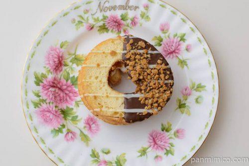 ケーキドーナツ(ホイップサンド)【ヤマザキ】皿盛り
