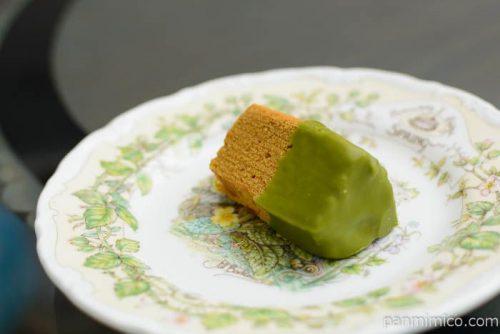 キャラメルバウム2個アソート(キャラメル&抹茶)【森永】抹茶横