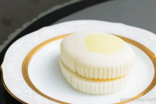 たまごみたいな蒸しケーキ(カスタード&ホイップ)横