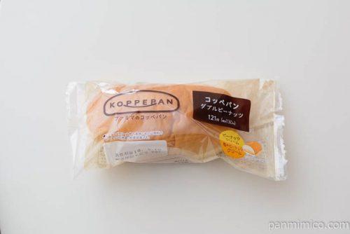 コッペパン(ダブルピーナッツ)【ファミリーマート】