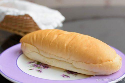 もっちりとしたコッペパン 粒々ピーナッツ【ローソン】横