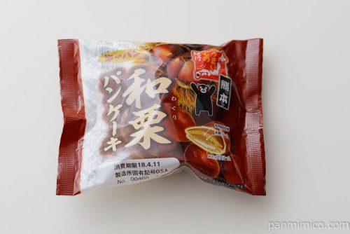 熊本 和栗パンケーキ【第一パン】
