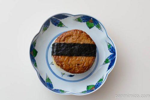 焼つくねおむすび【セブンイレブン】皿盛り