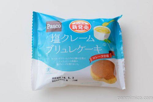 塩クレームブリュレケーキ【パスコ】