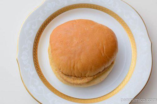 ふっくらチキンナゲットバーガー(バーベキューソース)【ヤマザキ】皿盛り
