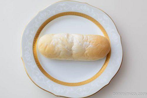 アップル&カスタードクリームコッペパン【ヤマザキ】皿盛り