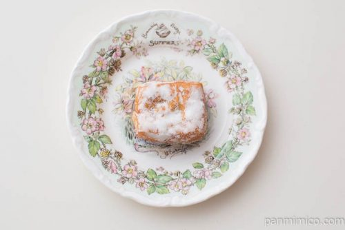 3種のフルーツドーナツ(3)【フジパン】皿盛り