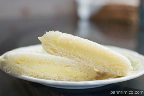 ヤマザキ ランチパック シュガーマーガリン(赤穂市産の塩)皿盛り