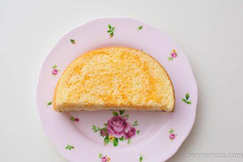 メロンクリームサンド(北海道産メロンの果汁)【ヤマザキ】皿盛り