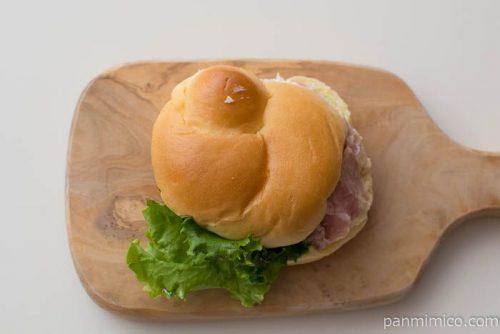 ブリオッシュサンド(パストラミポーク)【ファミリーマート】皿盛り