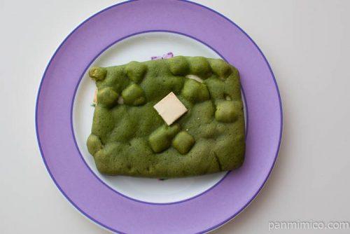 ビスチョコデニッシュ(抹茶&ホワイトチョコ)【ファミマ】皿盛り