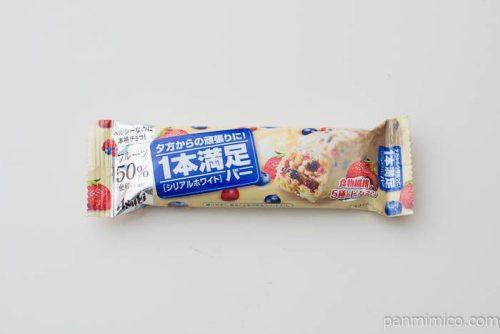 1本満足バー シリアルホワイト【アサヒグループ食品】