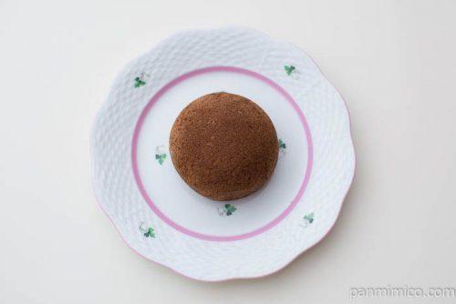 カスタードケーキ(デコポンチョコレート)【熊本菓房】皿盛り