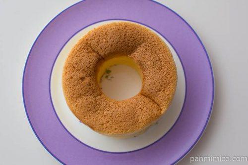 ふわふわシフォンケーキ(飛騨高原牛乳入り)【ローソン】皿盛り
