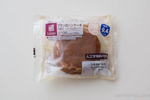 ローソン ブランのパンケーキ 2個入(メープル&ホイップ)